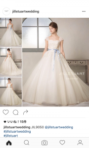 JILLSTUART WEDDING instagram